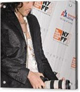 Russell Brand At Arrivals For 48th New Acrylic Print by Everett