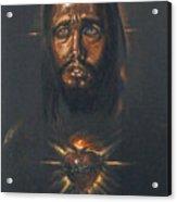 Sacred Heart Acrylic Print by Tommy  Winn