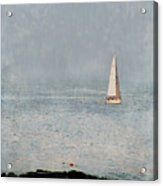 Sail Away Acrylic Print by Colleen Kammerer