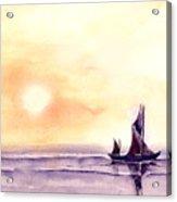 Sailing Acrylic Print by Anil Nene