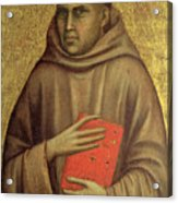Saint Anthony Abbot Acrylic Print by Giotto di Bondone