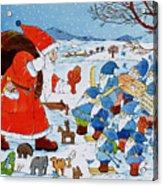 Saint Nicholas Acrylic Print by Christian Kaempf
