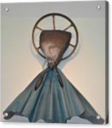 Saint Praise Acrylic Print by Michael Jude Russo