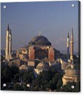 Saint Sophia Hagia Sophia Acrylic Print by Richard Nowitz