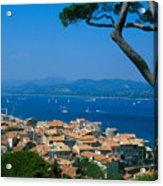 Saint-tropez - Provence Acrylic Print by Martial Colomb