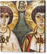 Saints Sergius And Bacchus Acrylic Print by Granger