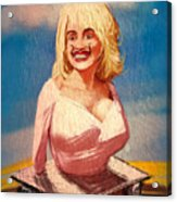 Salvador Dolly Dolly Acrylic Print by Russell Pierce