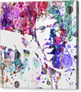 Samuel L Jackson Pulp Fiction Acrylic Print by Naxart Studio