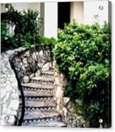 San Antonio Stairway Acrylic Print by Will Borden