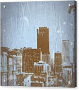San Francisco 2 Acrylic Print by Naxart Studio