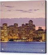 San Francisco Skyline Acrylic Print by Bryan Mullennix