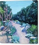 Santa Barbara Botanical Gardens Acrylic Print by M Schaefer