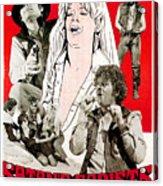 Satans Sadists, Russ Tamblyn Bottom Acrylic Print by Everett