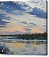 Scenic Overlook - Delaware River Acrylic Print by Lea Novak