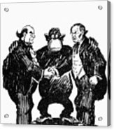 Scopes Trial Cartoon 1925 Acrylic Print by Granger