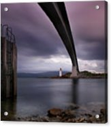 Scotland Skye Bridge Acrylic Print by Nina Papiorek