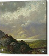 Scottish Landscape Acrylic Print by Gustave Dore