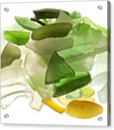 Sea Glass Acrylic Print by Fabrizio Troiani