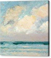 Sea Study - Morning Acrylic Print by AS Stokes