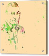 Sean Connery Acrylic Print by Naxart Studio