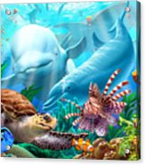 Seavilians Acrylic Print by Jerry LoFaro