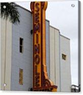 Seminole Theatre 1940 Acrylic Print by David Lee Thompson