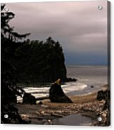 Serene And Pure - Ruby Beach - Olympic Peninsula Wa Acrylic Print by Christine Till
