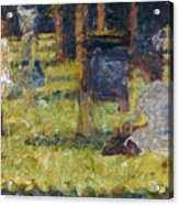 Seurat: Grande Jatte, 1884 Acrylic Print by Granger