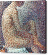 Seurat: Model, 1887 Acrylic Print by Granger
