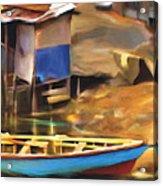 Shada District Acrylic Print by Bob Salo