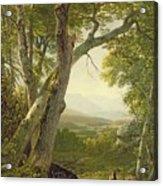 Shandaken Ridge - Kingston Acrylic Print by Asher Brown Durand