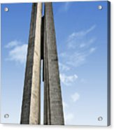 Shanghai - Monument To The People's Heroes Acrylic Print by Christine Till