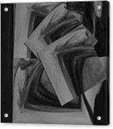 She's Coming Undone Acrylic Print by Vicki Lynn Sodora
