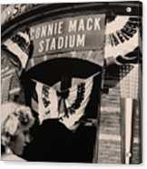 Shibe Park - Connie Mack Stadium Acrylic Print by Bill Cannon