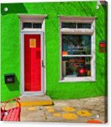 Shop Colors Acrylic Print by Steven Ainsworth