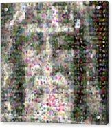 Shroud Of Turin Acrylic Print by Gilberto Viciedo