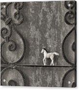 Silver Nostalgia Acrylic Print by Jeff  Gettis