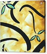 Simply Glorious 2 By Madart Acrylic Print by Megan Duncanson