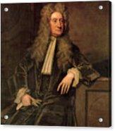 Sir Isaac Newton  Acrylic Print by Sir Godfrey Kneller