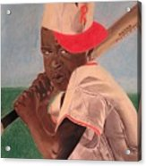Slugger Acrylic Print by Wil Golden