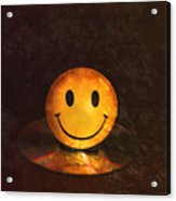 Smile Acrylic Print by Peter Chilelli
