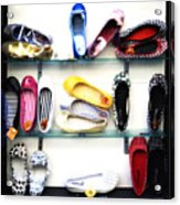 So Many Shoes... Acrylic Print by Marilyn Hunt