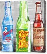 Soda Pops Acrylic Print by Russell Pierce