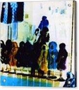 Soho Shop Window Acrylic Print by Karin Kohlmeier