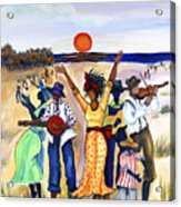 Songs Of Zion Acrylic Print by Diane Britton Dunham