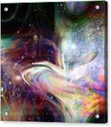 Soul Vibes Acrylic Print by Linda Sannuti