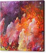 Souls In Hell Acrylic Print by Miki De Goodaboom