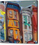 South Street Revisited Acrylic Print by Kevin  Sherf
