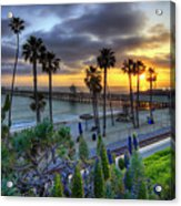 Southern California Sunset Acrylic Print by Sean Foster
