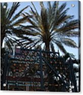 Southernmost Hotel Entrance In Key West Acrylic Print by Susanne Van Hulst